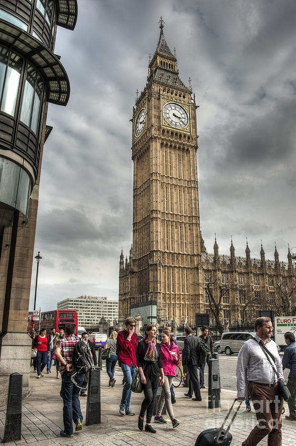 City Photograph - Big Ben London by Donald Davis