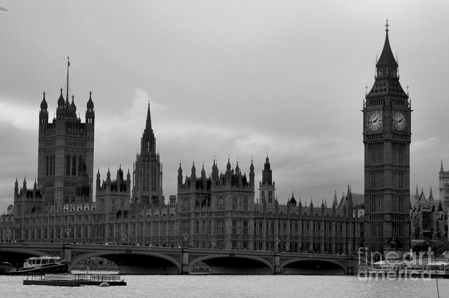 Big Ben Photograph - Big Ben by Melissa Petrey