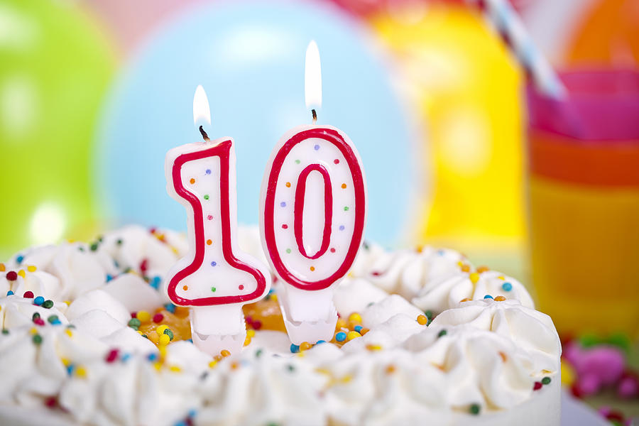 Birthday Cake Photograph by GMVozd