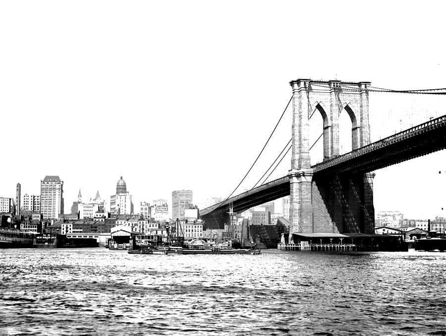 Black And White Abstract City Photography...brooklyn ...