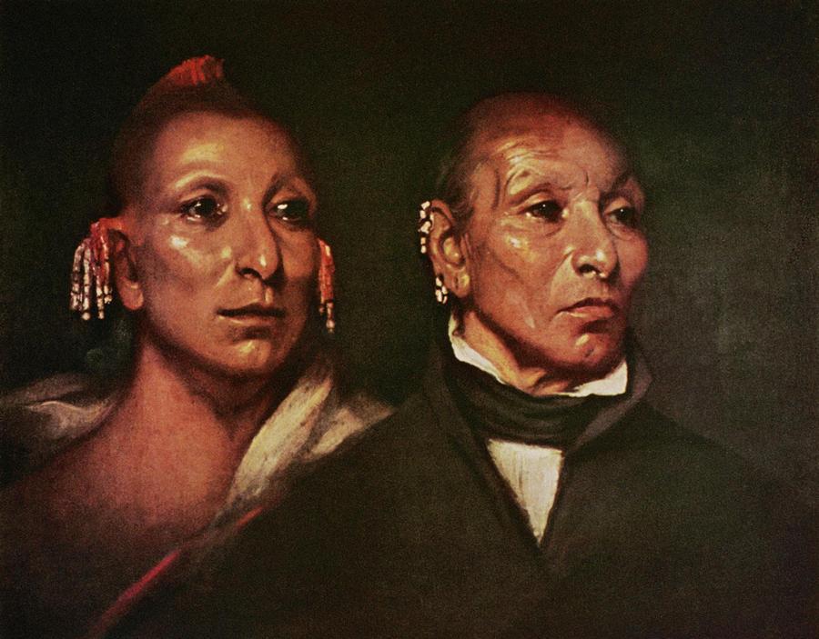 1833 Painting - Black Hawk (1767-1838) by Granger
