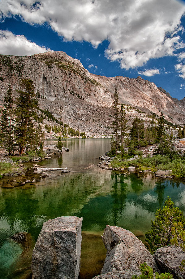 Lake Photograph - Blue Lake by Cat Connor
