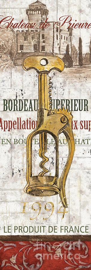Wine Painting - Bordeaux Blanc 2 by Debbie DeWitt