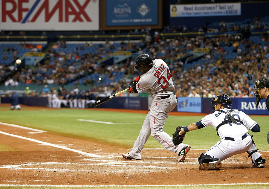 Boston Red Sox V Tampa Bay Rays 2 Photograph by Brian Blanco