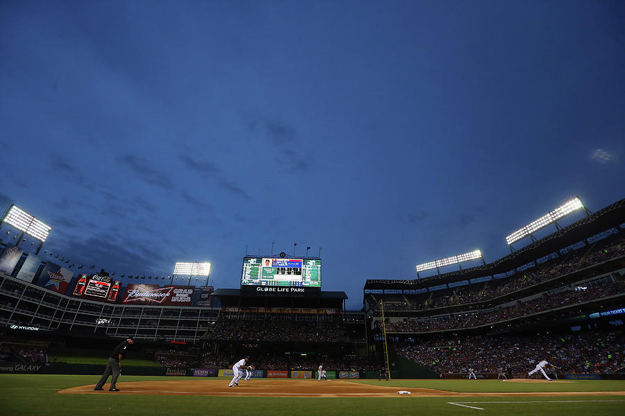 Boston Red Sox V Texas Rangers Photograph by Ronald Martinez