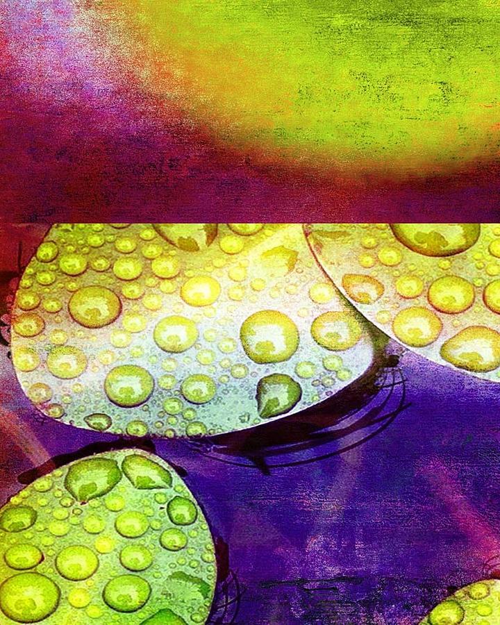 Flower Mixed Media - Botanical Elements I by Ricki Mountain