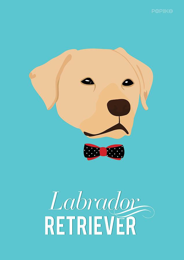 Dogs Digital Art - Bowtie Dogs by Popiko Shop