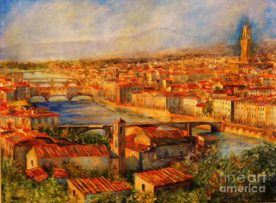 BRIDGES OF FLORENCE by Dagmar Helbig