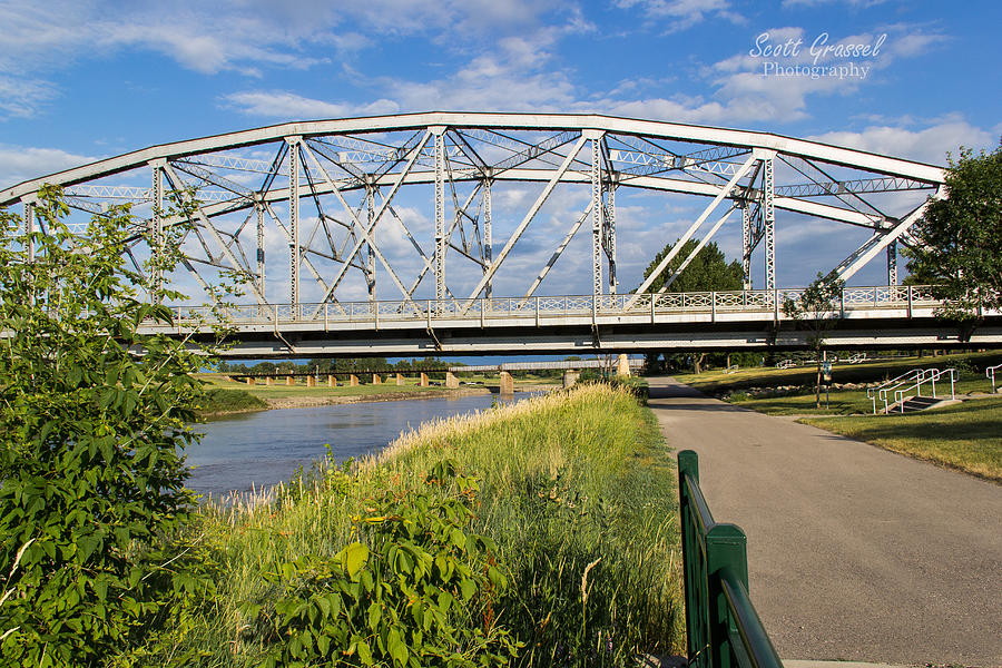 2 Bridges Photograph by Scott Grassel