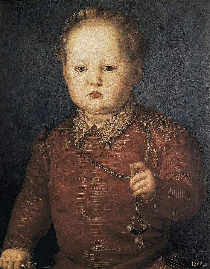 Design Toscano Portrait of a Young Man, 1530 by Bronzino