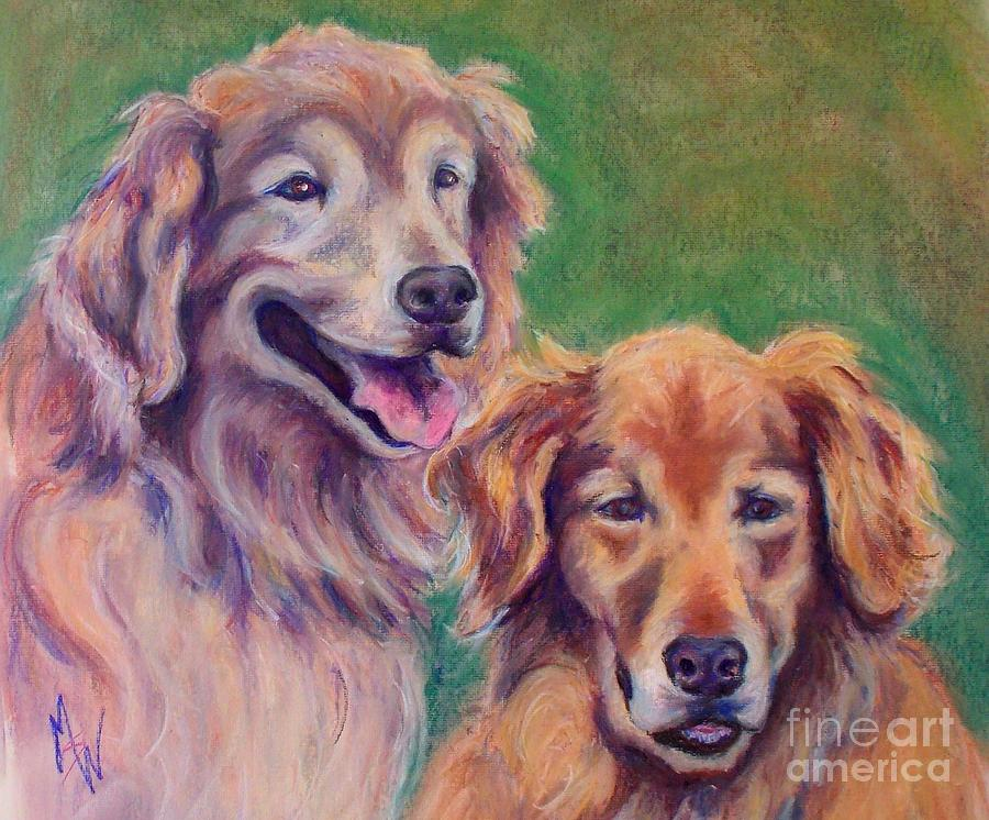 Brothers Pastel by Mindy Sue Werth