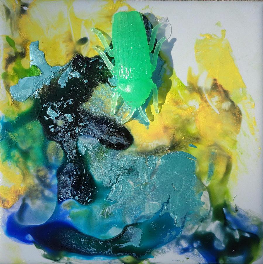 Bug1 Painting by Madigan Lang