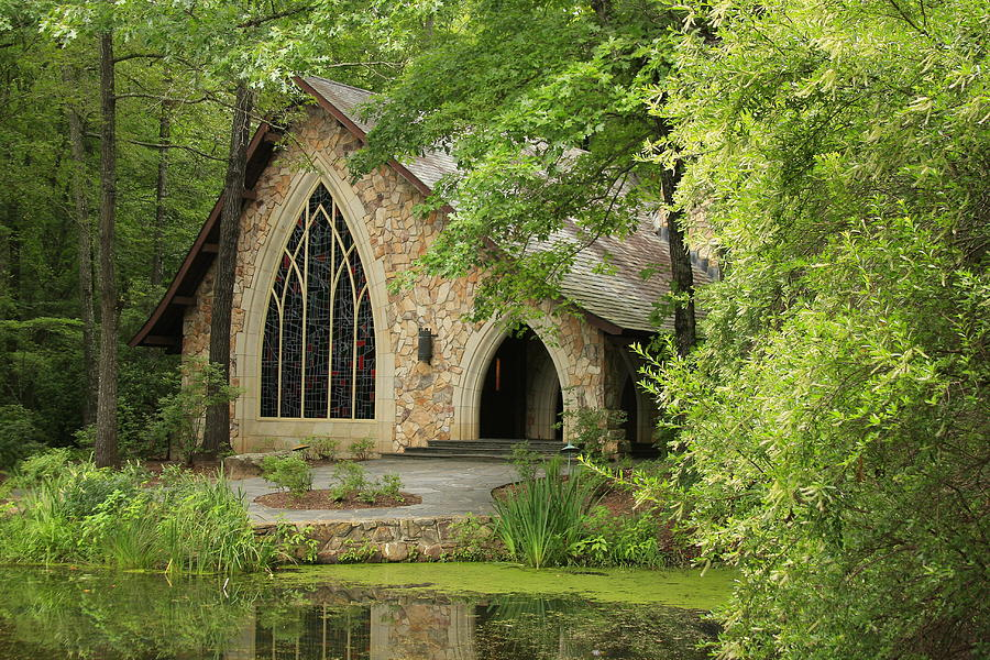 Chapel Photograph   Callaway Gardens Chapel   Pine Mountain Georgia By  Mountains To The Sea Photo