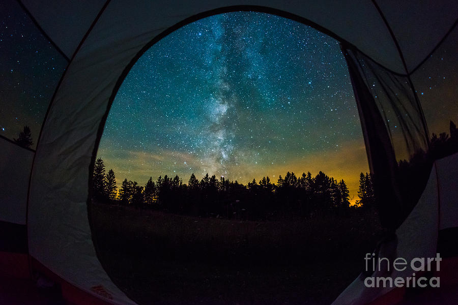 Camping Under The Stars Photograph By Michael Ver Sprill