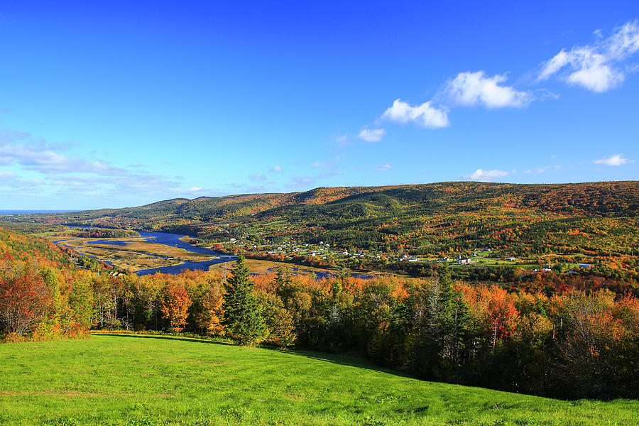 Autumn Photograph - Canada, Nova Scotia, Cape Breton, Cabot by Patrick J. Wall