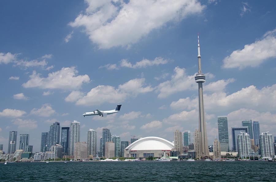 Aircraft Photograph - Canada, Ontario, Toronto by Cindy Miller Hopkins