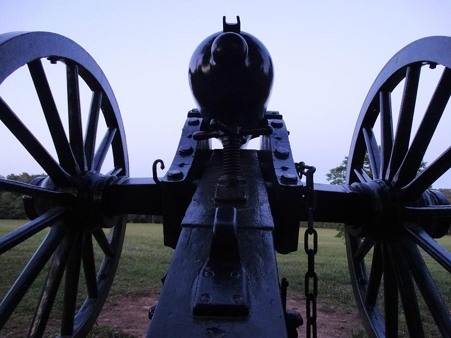 Cannon Photograph by William Watts