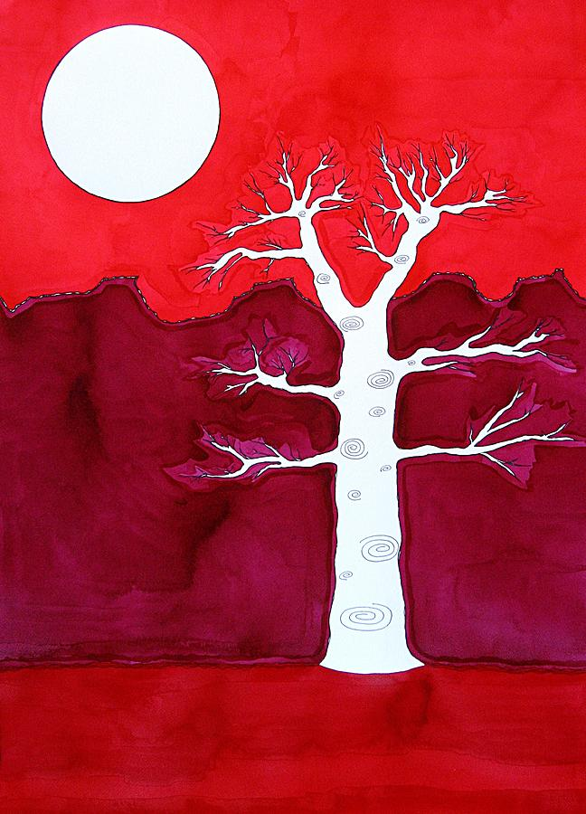Painting Painting - Canyon Tree Original Painting by Sol Luckman