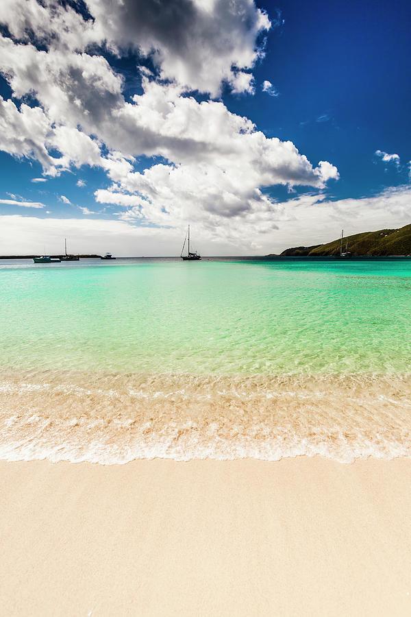 Caribbean Beach Photograph by Guvendemir
