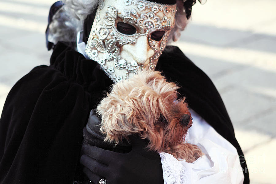 People Photograph - Carnival Dog by John Rizzuto