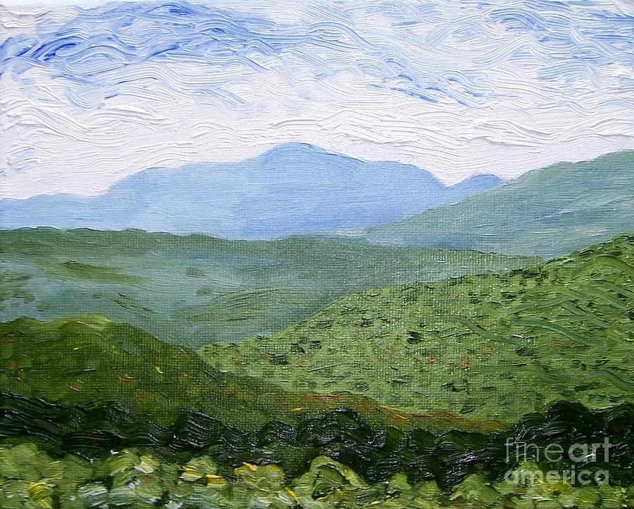 Catskill Mountains Painting - Catskill Mountains by Kevin Croitz