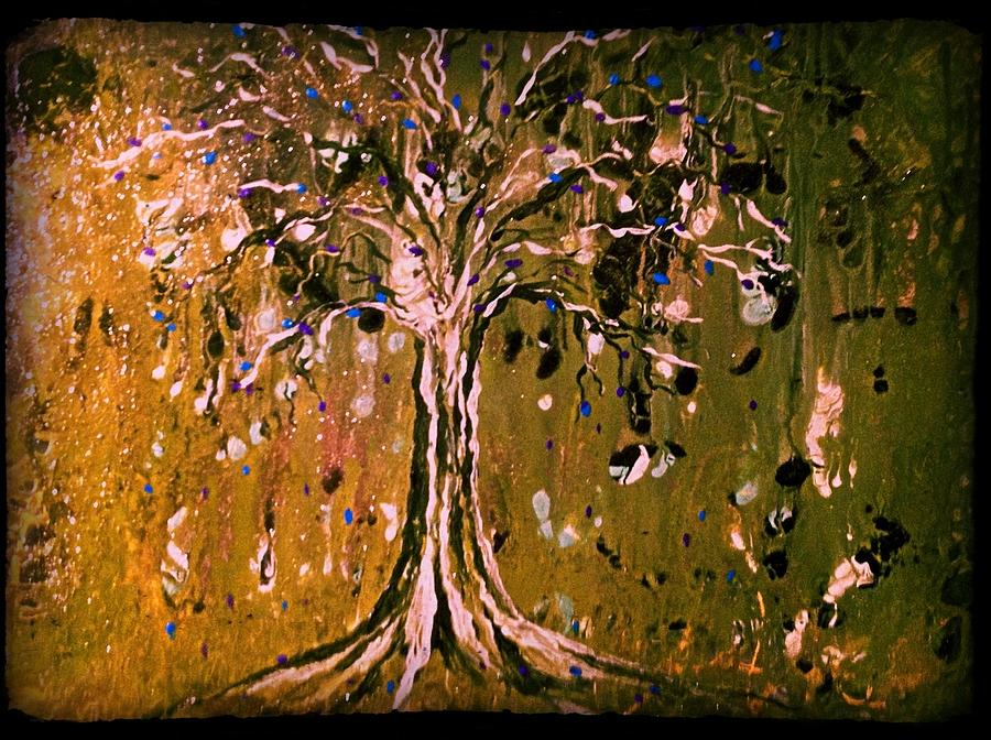 Celtic Tree Of Life Painting by Schroder Konate