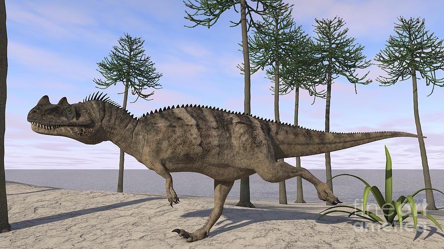Ceratosaurus Hunting For Its Next Meal Digital Art