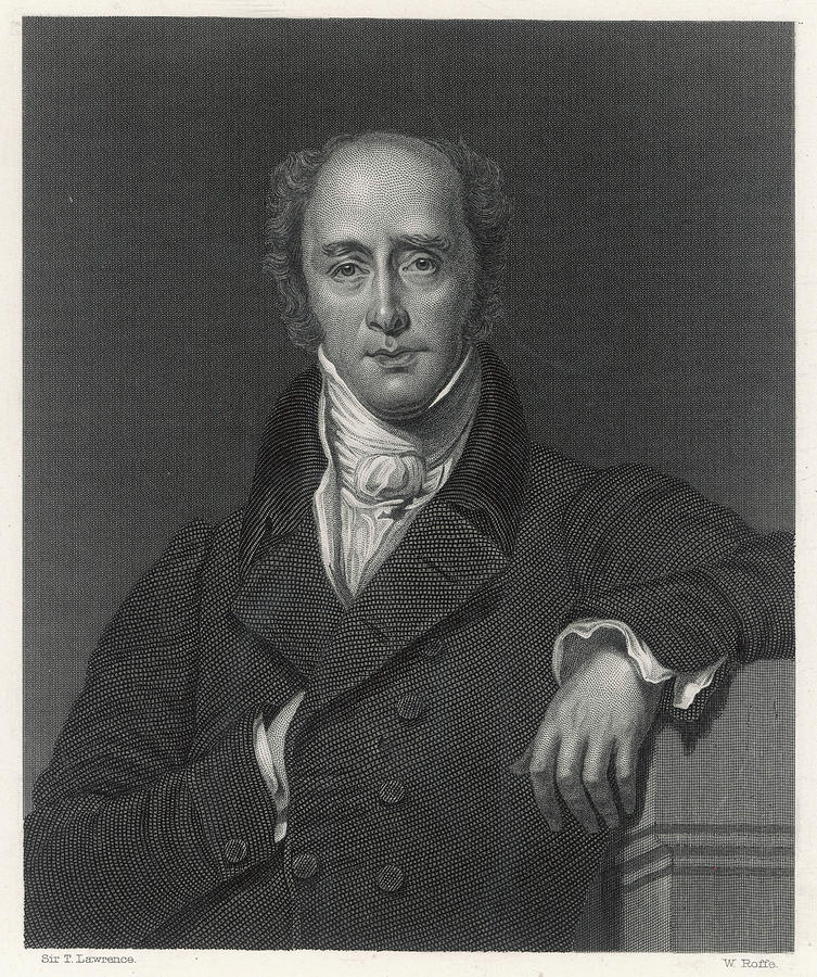 Grey Drawing - Charles Grey 2nd Earl  English by Mary Evans Picture Library