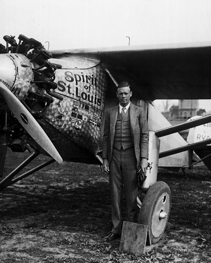 Classic Photograph - Charles Lindbergh 2 by Retro Images Archive