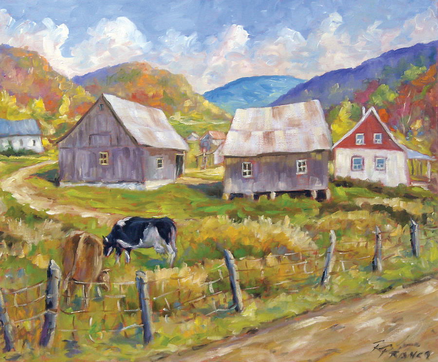 Painting Painting - Charlevoix North by Richard T Pranke