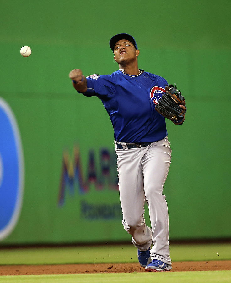 Chicago Cubs V Miami Marlins 2 Photograph by Mike Ehrmann