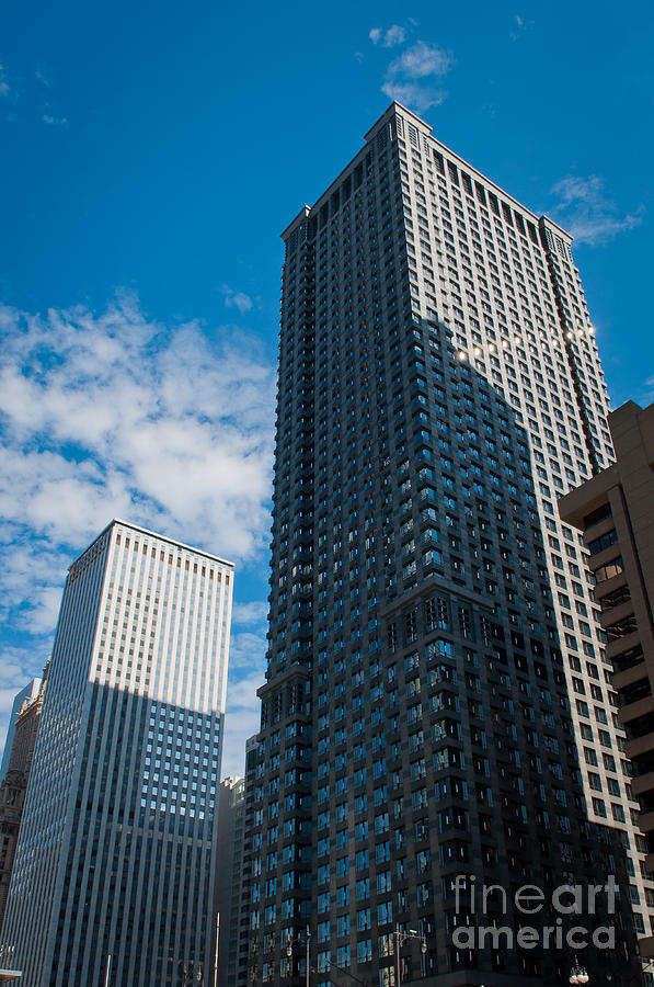 Chicago Downtown Photograph - Chicago Downtown by Dejan Jovanovic