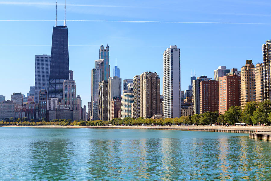 Chicago Skyline Photograph by Fraser Hall
