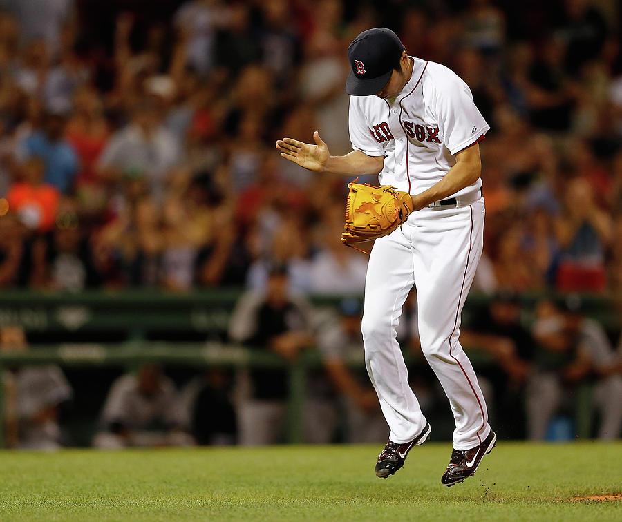 Chicago White Sox V Boston Red Sox 2 Photograph by Jim Rogash