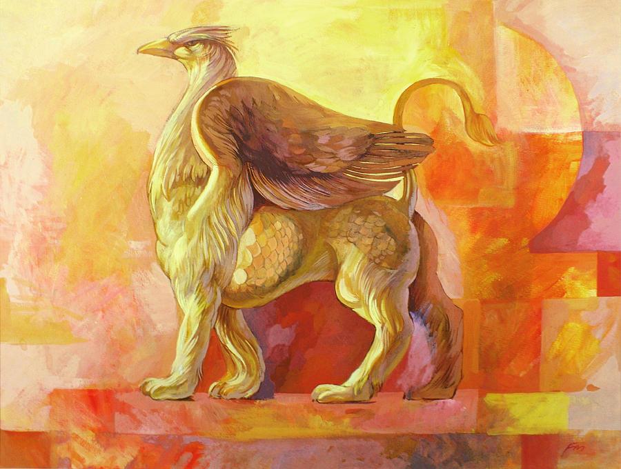 Chimera Painting - Chimera by Filip Mihail