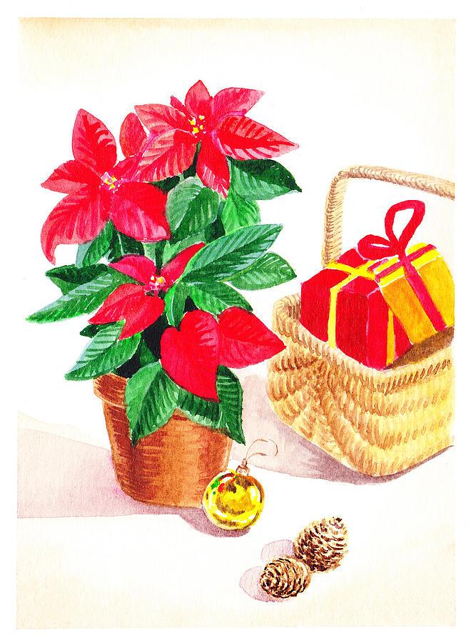 Christmas Painting - Christmas  by Irina Sztukowski