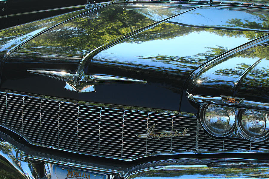 Chrysler Imperial Photograph - Chrysler Imperial by Jim Cotton