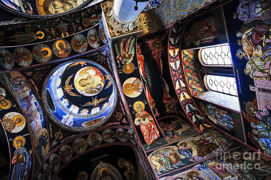 Mosaic Photograph - Church Interior by Elena Elisseeva