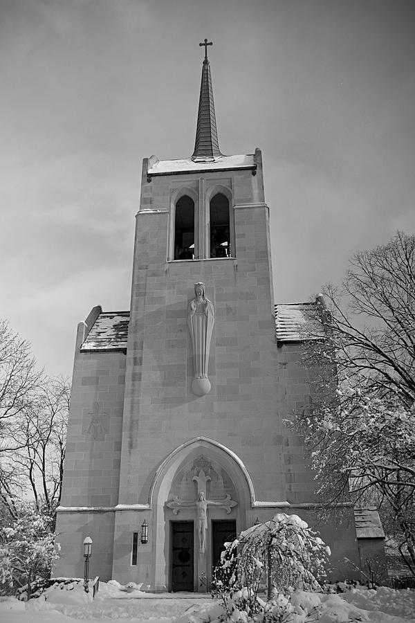 Winter Photograph - Church by Thomas Fouch