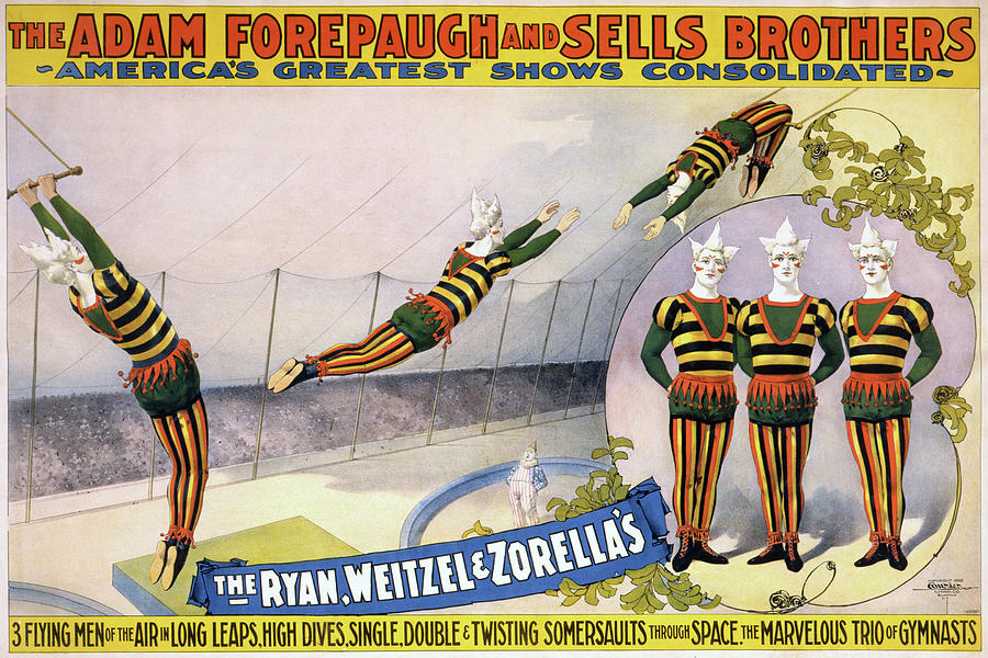 1898 Painting - Circus Poster, C1898 by Granger