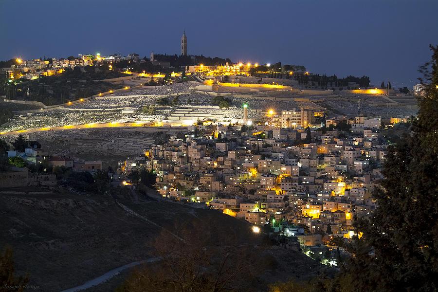 City Of Gold Photograph - City Of Gold by Joseph Hedaya
