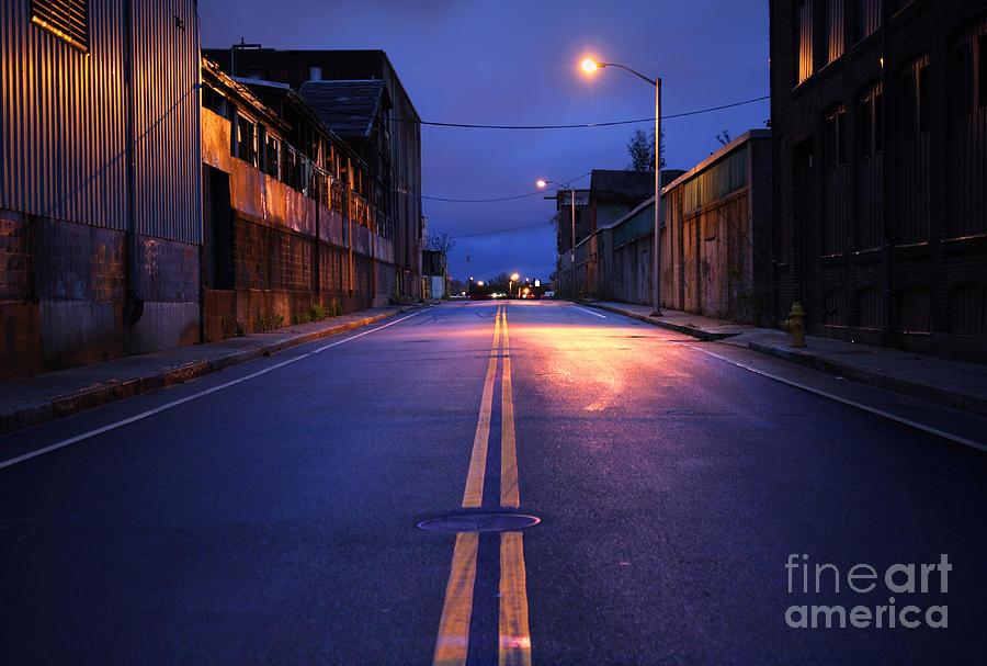 Street Photograph - City Street by Denis Tangney Jr