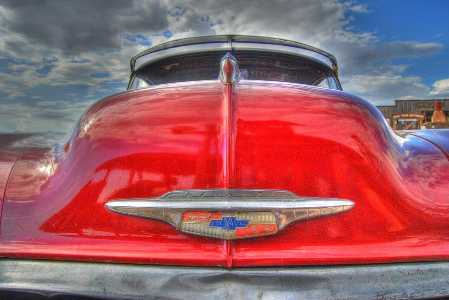 Chevy Photograph - Classic Chevy by Tam Ryan