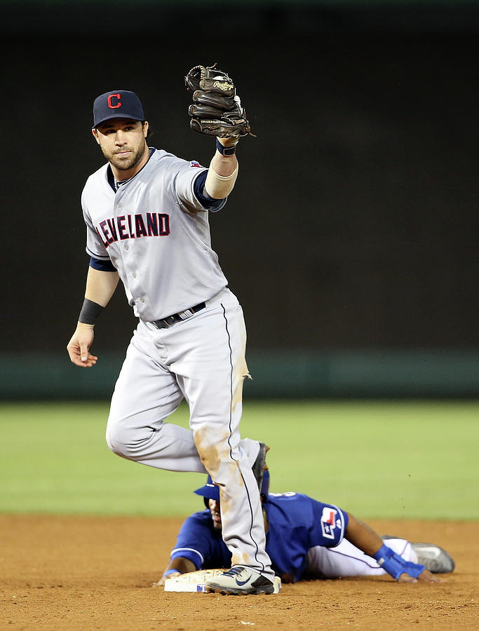 Cleveland Indians V Texas Rangers Photograph by Rick Yeatts