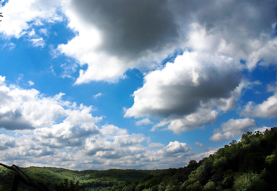 Clouds Photograph - Clouds by Optical Playground By MP Ray