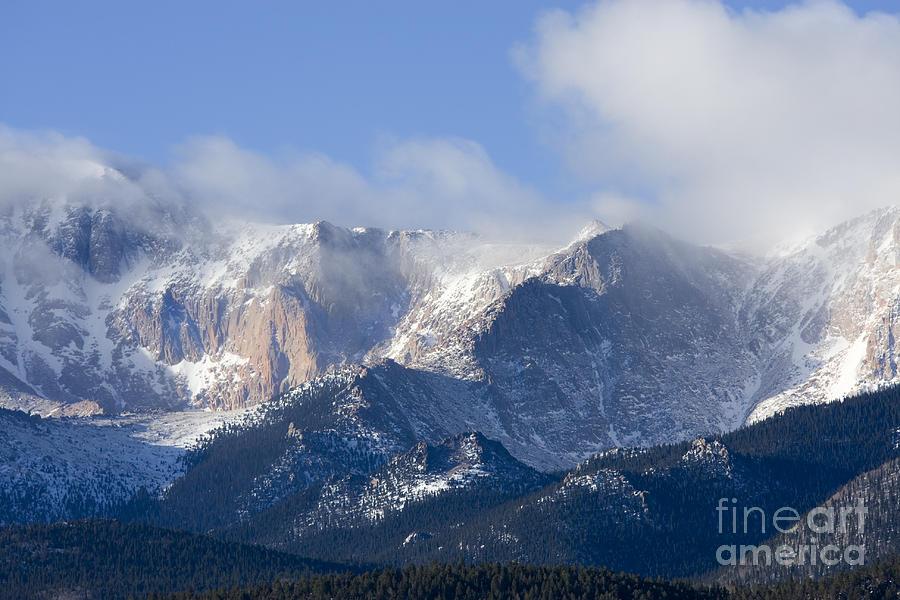 Cloudy Peak Photograph