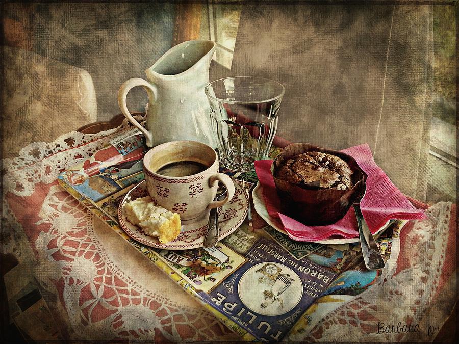 Coffee Photograph - Coffee Time by Barbara Orenya