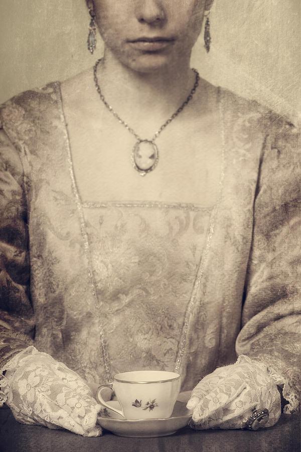 Woman Photograph - Coffee Time by Joana Kruse