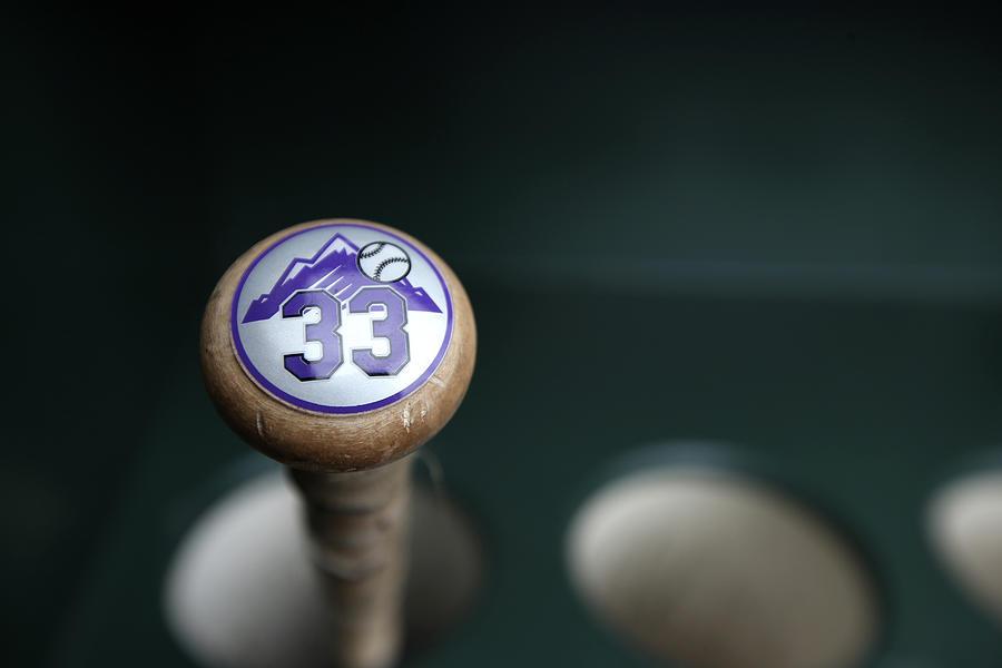 Colorado Rockies V. San Francisco Giants Photograph by Brad Mangin