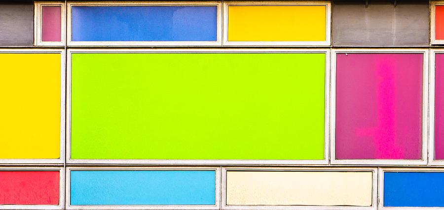 Colorful Panels Photograph